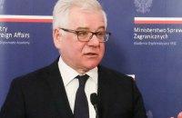 Глава МЗС Польщі висловив надію на врегулювання історичної суперечки з Україною