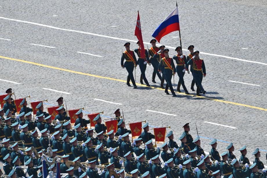 Парад Победы в столицеРФ: для гостей установлены особые трибуны