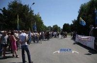 Одесские предприниматели бастуют против беспредела таможенников