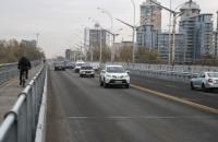 В Киеве сняли 14-месячное ограничение на проезд по Русановскому мосту