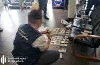 Киевского прокурора задержали при получении $100 тыс. взятки