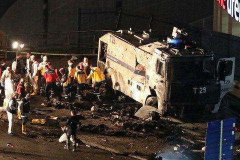 Курдські бойовики взяли на себе відповідальність за теракт у Стамбулі