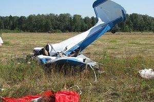 Под Варшавой разбился самолет