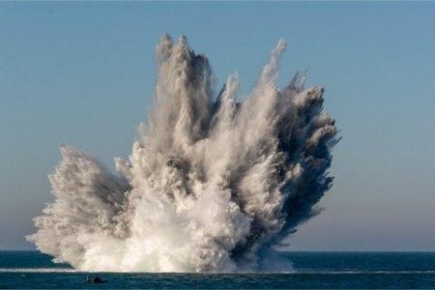 У Ла-Манші підірвали рекордну кількість боєприпасів часів Другої світової війни
