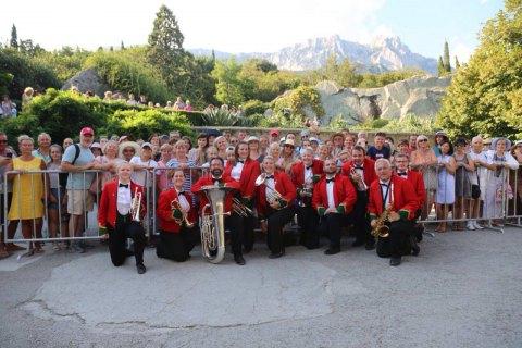 Симфонический ансамбль Уэльса посетил захваченный Крым ссерией концертов