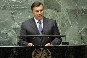 Янукович летит в Нью-Йорк на заседание Генассамблеи ООН