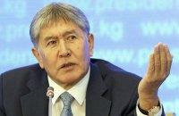 В Кыргызстане опровергли факт разговора Порошенко с Атамбаевым