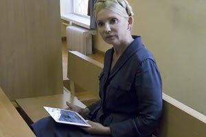 Тимошенко ходатайствует о переносе заседания