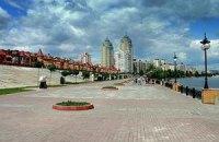 С Оболонской набережной в Киеве убрали все торговые точки