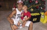 Футбольные звезды празднуют Рождество