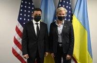 """Зеленський обговорив з міністром енергетики США загрози з боку """"Північного потоку-2"""""""