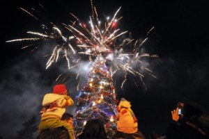 В Харькове будет курсировать рождественский трамвай