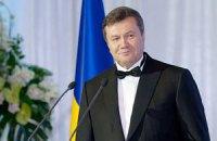 Янукович пожелал школьникам высоких результатов в учебе