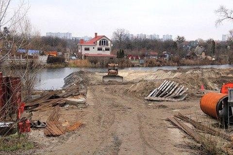 У Биківні вкрали 1,8 га, виділених для перенесення дач з Русанівських садів