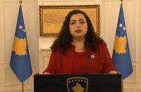 Вйосу Османі обрано президенткою Косова