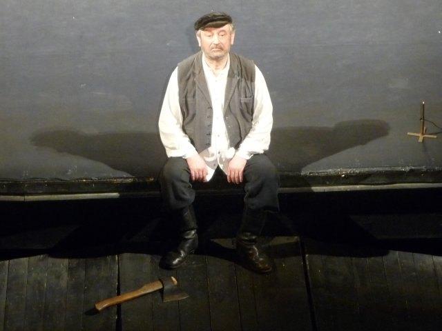 Богдан Ступка в ролі Тев'є-Молочника