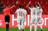 Сборная Испании продолжила свою рекордную беспроигрышную серию в квалификации ЧМ