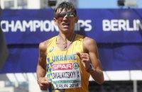 Украинец Марьян Закальницкий стал чемпионом Европы в спортивной ходьбе на 50 км