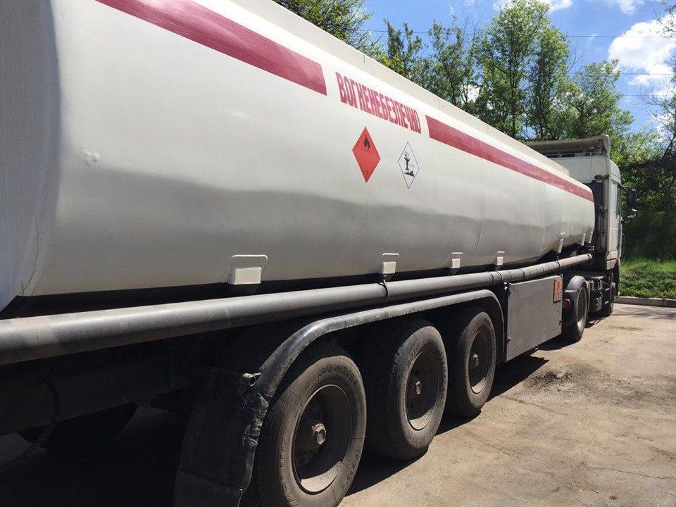У жителя Константиновки изъяли бензовоз стоимостью около 2 млн гривен