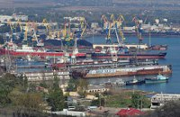 В порты Крыма в октябре зашли 22 грузовых суда-нарушителя