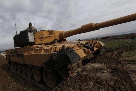 Туреччина почала військову операцію на території Сирії