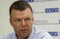 Наблюдатели СММ ОБСЕ не попали в Светлодарск из-за заминированной дороги