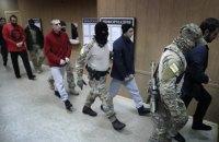 Мосгорсуд оставил четырех украинских моряков под арестом