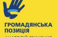 «Громадянська позиція»: список кандидатів у депутати