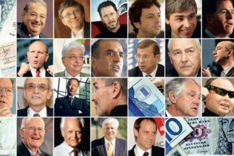 Bloomberg: топ-500 найбагатших людей світу розбагатіли на $237 млрд за рік