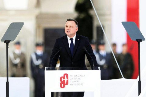 Дуда: чтобы избежать повторения Второй мировой, Запад должен сохранить санкции против РФ