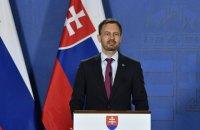Санкції Словаччини проти Росії триватимуть, доки триватиме окупація, - прем'єр Хегер