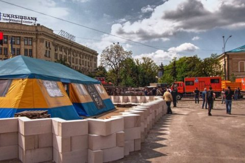 Мэрия Харькова выбрала новое место для волонтерской палатки с площади Свободы
