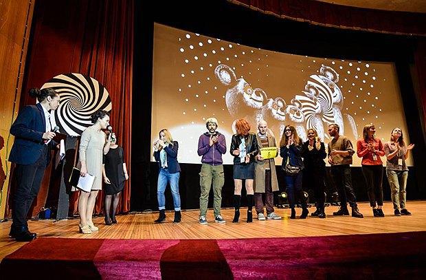 Награждение победителей Docudays UA, 31 марта 2016 года