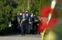 Зеленский в Ужгороде почтил память воинов, боровшихся против нацизма