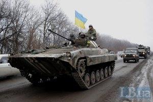 Генштаб готовится усилить позиции украинских военных под Дебальцево