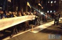 Студенты отнесли Януковичу письмо