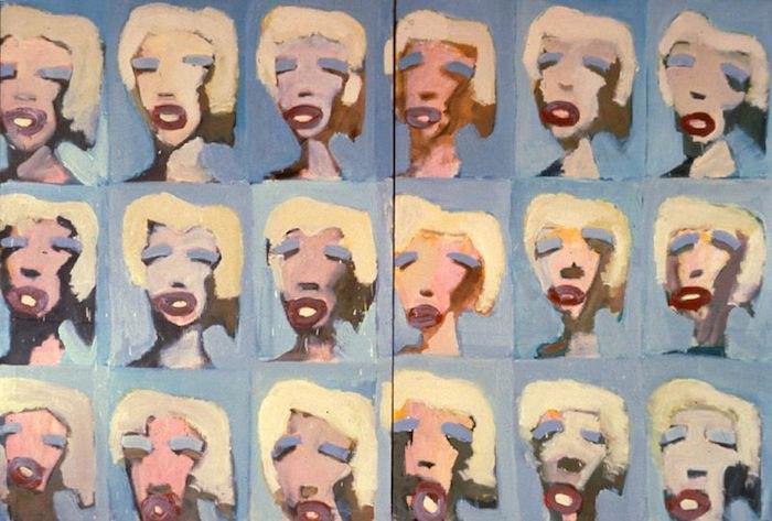 А.Тер-Оганьян. «Энди Уорхол. Мэрилин», 1989