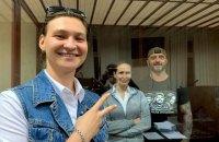 """""""Справа Шеремета"""": суд продовжив домашній арешт Кузьменко та зобов'язання Дугарь до 18 липня"""