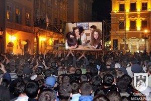 Во Львове проходит фестиваль уличного кино