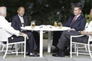 Кружка мира-пива Обамы частично уладила расовый скандал