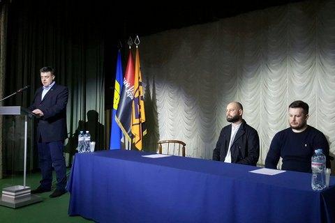 Украинские националисты подписали манифест обобъединении против РФ