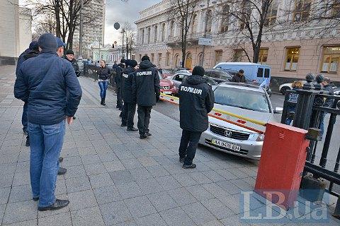 """""""Автомайдан"""" заблокировал заезд в Верховную Раду"""