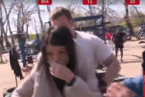 У столичному Гідропарку напали на знімальні групи двох телеканалів, які знімали репортажі про карантин