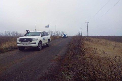 Боевики не пускают патрули СММ ОБСЕ на участки разведения сил