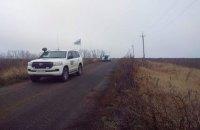Бойовики не пускають патрулі СММ ОБСЄ на ділянки розведення сил