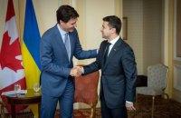 Трюдо запевнив Зеленського у непохитній підтримці України Канадою