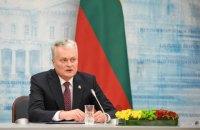 Президент Литви закликав Росію до виконання мінських домовленостей