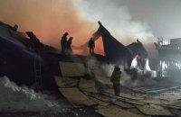 "Пожежу в ""Епіцентрі"" у Первомайську загасили"