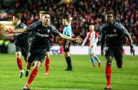 """Потрясающий гол форварда """"Севильи"""" был признан УЕФА моментом дня в Лиге Европы"""