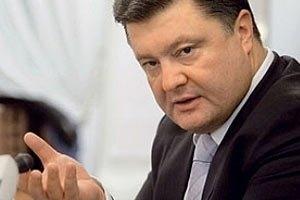 Порошенко шокований обсягами імпорту машин в Україні